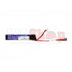 LiPo 11.1V 1100mAh 15C Stock Tube Type Mini T-Plug