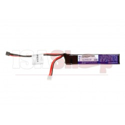 LiPo 7.4V 1100mAh 15C Stock Tube Type Mini T-Plug