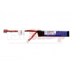 LiPo 7.4V 1100mAh 15C Stock Tube Type T-Plug