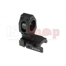 25.4 / 30mm Tactical QD Scope Mount Black