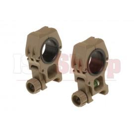 M10 Mount Rings 25.4mm / 30mm Desert