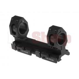 Tactical Mount Base 25.4mm / 30mm Black