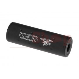107mm Navy Seals Silencer CW/CCW Black