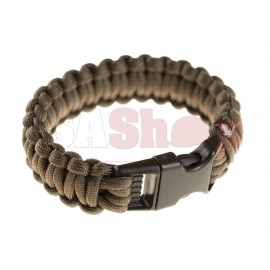 Paracord Bracelet Gun Grey