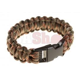 Paracord Bracelet OD Green Camo