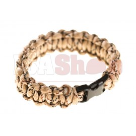 Paracord Bracelet Desert Camo Small Buckle