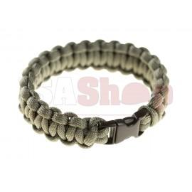 Paracord Bracelet Compact Grey
