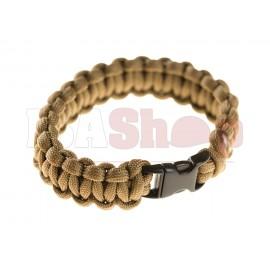 Paracord Bracelet Compact Coyote