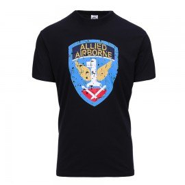 Allied Airborne T-Shirt Black