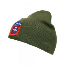 Beanie 82nd Airborne Green