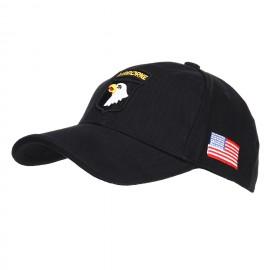 101 Airborne Baseball Cap Black
