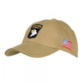101 Airborne Baseball Cap Khaki