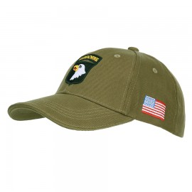 101st Airborne Division Baseball Cap Green