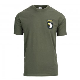 101st Airborne Division T-Shirt Green