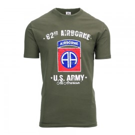 82nd Airborne Division T-Shirt Green