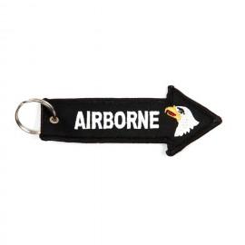 101st Airborne Division Keychain