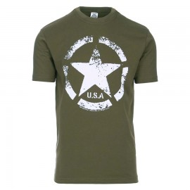 US Army Vintage T-Shirt OD