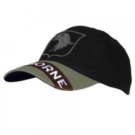 Airborne Baseball Cap Black