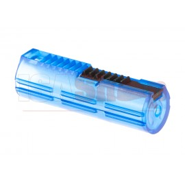 Reinforced Polycarbonate Piston 7 Steel Teeth Blue
