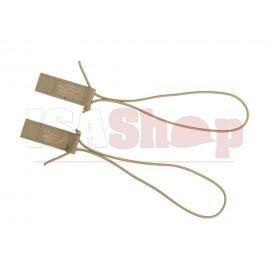 Boogie Regulator Bungee Velcro Strap Kit Tan