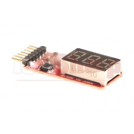 Simple Voltage Display 1-6S Lipo Voltage Meter