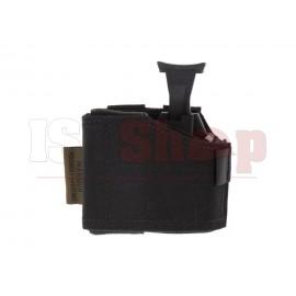 Universal Pistol Holster Left Handed Black
