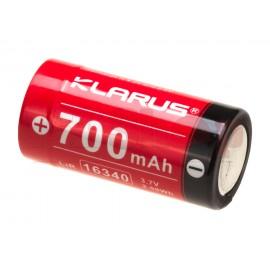 16340 Battery 3.7V 700mAh