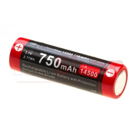 14500 Battery 3.7V 750mAh Micro-USB