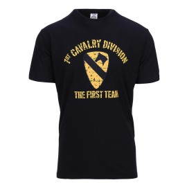 1st Cavalry Division T-Shirt Black