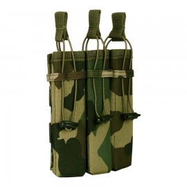 Molle Pouch Side Arm 3 Mags Woodland
