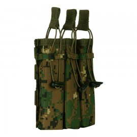 Molle Pouch Side Arm 3 Mags MARPAT Woodland