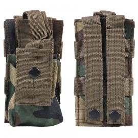 Molle Radio Utility Pouch Woodland