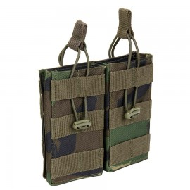 Molle Mag Pouch Open Woodland