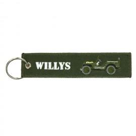 Willys Jeep Keychain