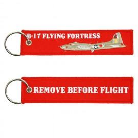 B-17 Flying Fortress WWII Keychain