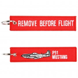 P-51 Mustang WWII Keychain