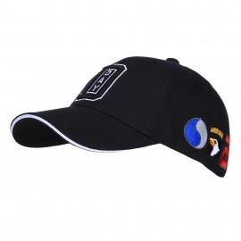 WWII D-Day Normandy Baseball Cap Black