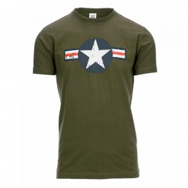 US Air Force WWII T-Shirt OD