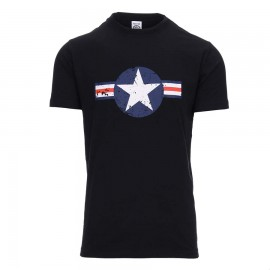 US Air Force WWII T-Shirt Black