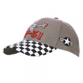 P-51 Mustang WWII Baseball Cap