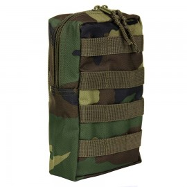 Molle Upright Pouch Woodland