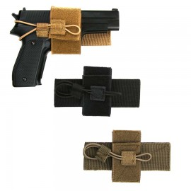 Universal Pistol Holder Black