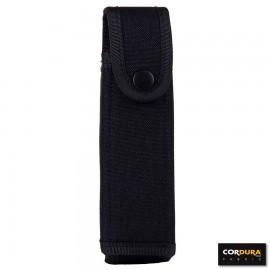 2AA Mini Flashlight Pouch Cordura Black
