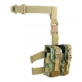 Dropleg M4 Mag Pouch A-TACS FG