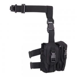 Dropleg M4 Mag Pouch Black