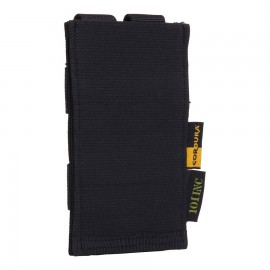 Single M4 Pouch With Elastic Band Black