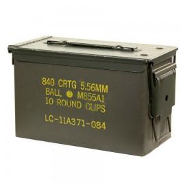 50 Cal. Ammo Box OD