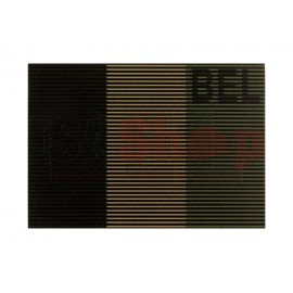 Dual IR Patch Belgium Ranger Green