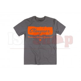 Handwritten Clawgear T-Shirt Grey