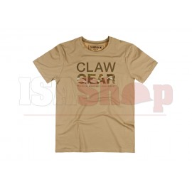MC Clawgear T-Shirt Khaki
